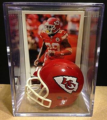 Kansas City Chiefs NFL Helmet Shadowbox w/ Eric Berry card