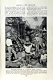 c1920 MEXICO INDUSTRY POTTERY MAN MEXICAN MARAUDERS