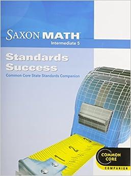 Amazon.com: Saxon Math Intermediate 5: Standards Success ...