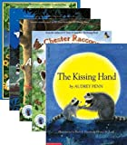 img - for 5 Book Collection of Chester the Raccoon The Kissing Hand Books By Audrey Penn (Kissing Hand Books, Includes: The Kissing Hand; A Pocket Full of Kisses; A Kiss Goodbye; Chester Raccoon and the Big Bad Bully; and Chester Raccoon and the Acorn Full of Memories) book / textbook / text book