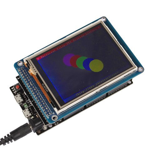 """Sainsmart 3.2"""" Tft Lcd Screen + Sd Card Slot + Tft Shield Kit For Arduino (With Due)"""
