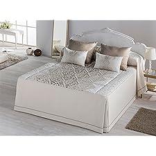Colcha edredon Bellini - cama 135 cm - Oro