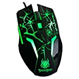 2013 New A-jazz Spider Man Sixth Generation 6d Wired USB Optical Professional Gaming Mouse Original & Brand NEW...