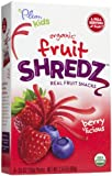 Plum Organics Organic Fruit Shredz Berry licious -- 5 Packets