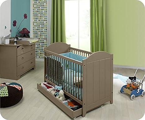 Mini Babyzimmer Charme Lein mit Wickelfläche