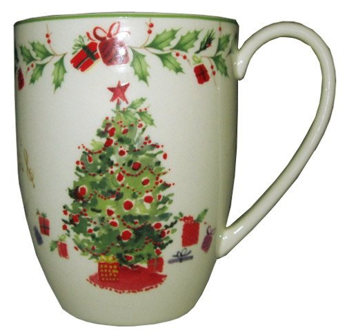 Lenox Holiday Illustrations Christmas Tree Mug