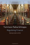 img - for Regulating Finance: Balancing Freedom and Risk book / textbook / text book