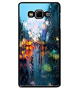 ColourCraft Water Drenched Mirror Design Back Case Cover for SAMSUNG GALAXY A7