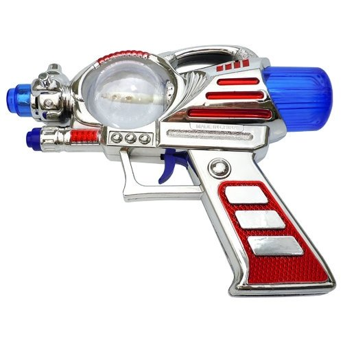 Light-Up Toy Space Gun with Sound - 1
