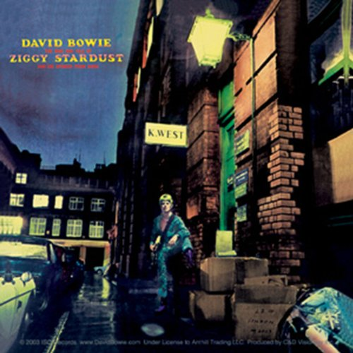 Licenses Products David Bowie Ziggy Stardust Sticker