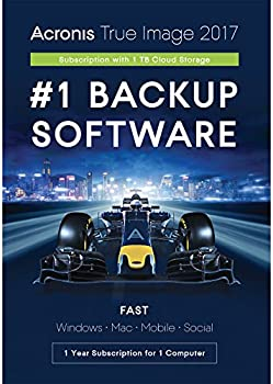 Acronis True Image 2017 for 1 Devices + 1TB Cloud Storage
