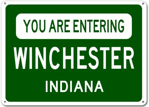 Winchester Street Sign