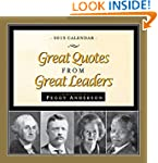 2015 Great Quotes from Great Leaders...