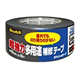 3M スコッチ 超強力多用途 補修テープ DUCT-NR18 のり残り少ないタイプ 48mm×18m DUCT-NR18