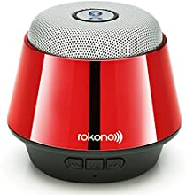 Rokono® (B10) BASS+ Mini Bluetooth Lautsprecher für iPhone / iPad / iPod / MP3 Player / Tablet-PC / Notebook - Rot
