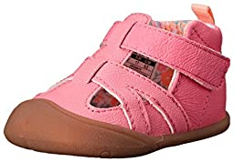 Carter\'s Every Step Artemis Stage 1 Crawl Walking Shoe (Infant), Neon Pink, 2 M US Infant