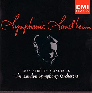 Symphonic Sondheim: Don Sebesky Conducts the London Symphony Orchestra