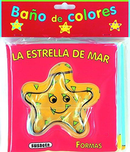La estrella de mar (Baño de colores)