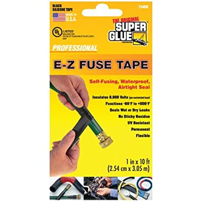 Super Glue 15408 E-z Fuse Silicone Tape, 10 Ft by Super Glue