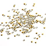 Yesurprise 1000pcs Punk Rock Metallic Rivets Alloy 3D Nail Art Studs Glitters DIY Decoration Craft Metal Studs for Nails, Cellphones 011