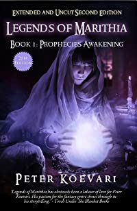 Legends Of Marithia: Book 1 - Prophecies Awakening by Peter Koevari ebook deal