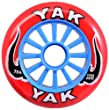 YAK Pro Model Wheel 100mm Red/Blue