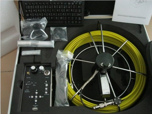Gowe 40M cable sewer pipe inspection camera with DVR&Keyboard TEC-Z710DK