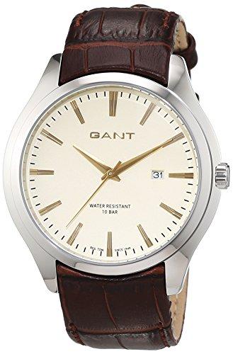 GANT W70693 - Reloj de pulsera Hombre, Cuero, color Marrón