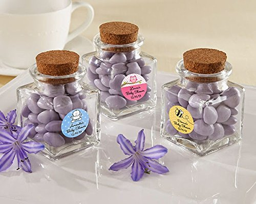 Square Mini Glass Jars For Party Favors