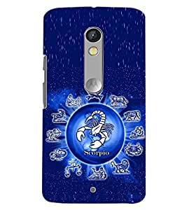 PrintDhaba SUNSIGNS D-6752 Back Case Cover for MOTOROLA MOTO X PLAY (Multi-Coloured)