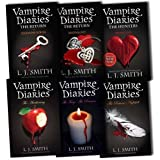 L J Smith Vampire Diaries 8 Titles in 6 Books Collection Pack Set RRP: �50.83 (The Awakening AND The Struggle Bks. 1 & 2, The Fury: AND The Reunion Bks. 3 & 4, The Return: Nightfall, The Return: Shadow Souls, The Return: Midnight, Phantom)by L J Smith