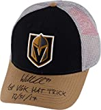 William Karlsson Vegas Golden Knights Autographed Adidas Cap with 1st NHL Hat Trick 12/31/17 Inscription - Fanatics Authentic Certified