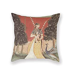 Decorative Pillow Cover Model : Amazon.com - Generic Custom Zippered Pillowcase Decorative Throw Pillow Cover Cushion Case 16