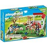 PLAYMOBIL 6147 Paddock Super Set with horses