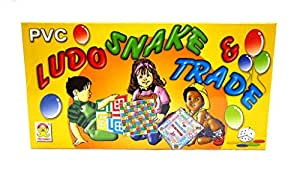 Techno Ludo Snake and Trade Board Game