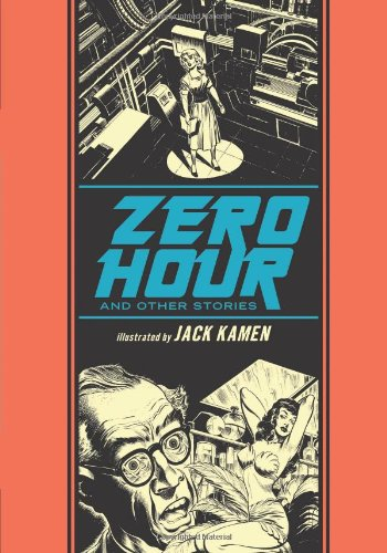 Zero Hour And Other Stories illustrated by Jack Kamen, Mr. Media Interviews