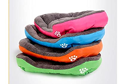 PAWZ Road Dog Bed Colorful Rainbow Design Oxford Fabric For small dogs