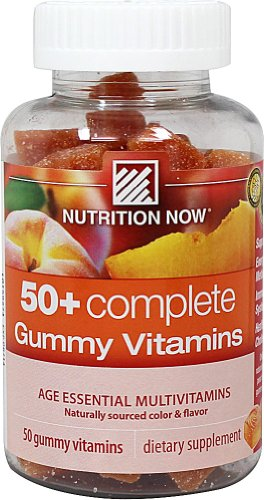 Nutrition Now Multi Vitamins 50 Plus Complete Gummies - 50 Per Pack -- 1 Each.