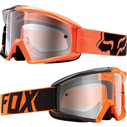 Fox Main Motocross MX MTB Goggles - 180 Race Orange / Clear
