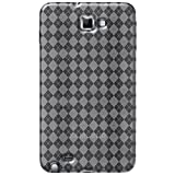 Amzer AMZ92933 Luxe Argyle High Gloss TPU Soft Gel Skin Case for Samsung Galaxy Note (Clear)