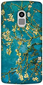 The Racoon Grip printed designer hard back mobile phone case cover for Lenovo K4 Note. (Almond Blo)