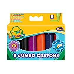 Funny product Crayola - 8 Jumbo Crayons Assorted Colours