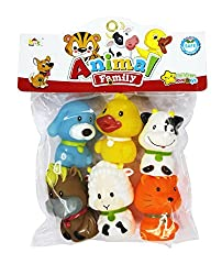 Shopaholic Animal Family bath Tub Squeeze Toys - HMC-1040