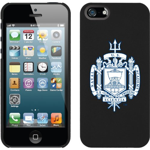 Special Sale US Naval Academy - emblem design on a Black iPhone 5 Thinshield Snap-On Case by Coveroo
