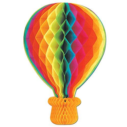 Beistle 55796 Tissue Hot Air Balloon, 22-Inch
