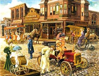 Cheap SunsOut Jigsaw Puzzle: Main Street (B0006O8GO2)