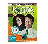 Korra Coloring Shampoo Hair Color Burgundy Pack of 30,30 ml Each