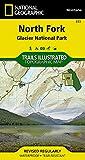 North Fork - Glacier National Park (National Geographic Trails Illustrated Map)
