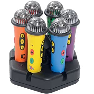 Rainbow Easi Speak 6 Pack with Docking Station ideal for children!