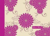 Pink Flowers Guest Book (Spank Stationery)
